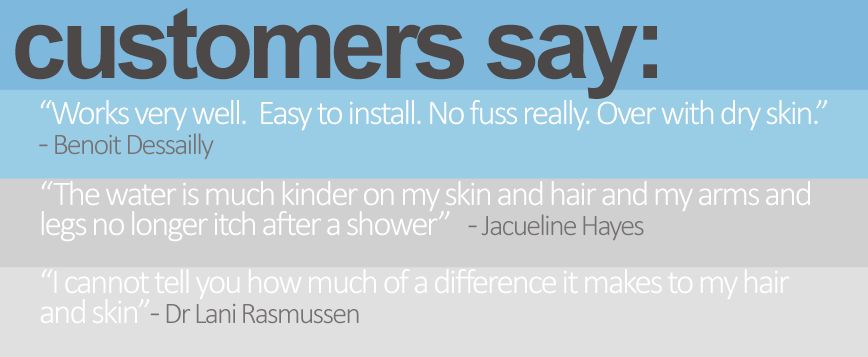 shower filter reviews - what our customers say